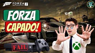 BOMBA! Más notícias pra quem vai jogar FORZA 7 no Xbox One X | O sonho ACABOU!