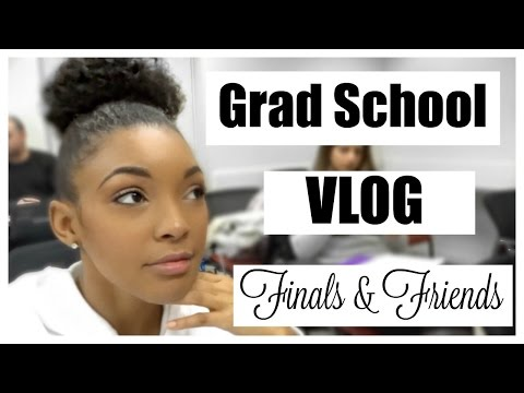 New York Graduate School Finals & Friends VLOG| Brittany Daniel