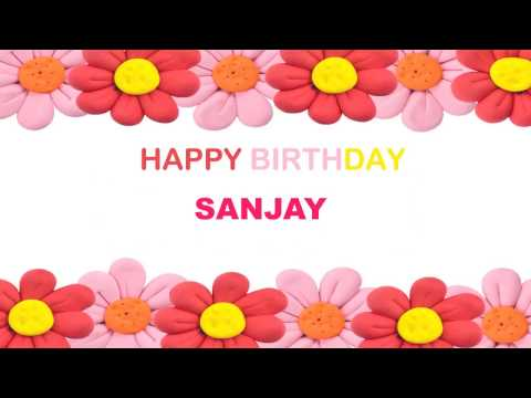 Sanjay   Birthday Postcards & Postales - Happy Birthday