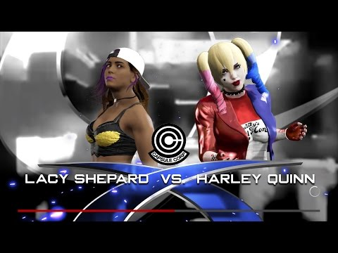 WWE 2K17 PS4 Lacy Shepard(Original) vs Harley Quinn(DC Comics)
