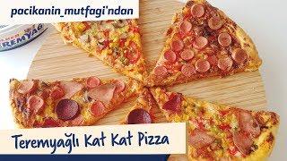 Paçikanın Mutfağından Teremyağlı Kat Kat Pizza