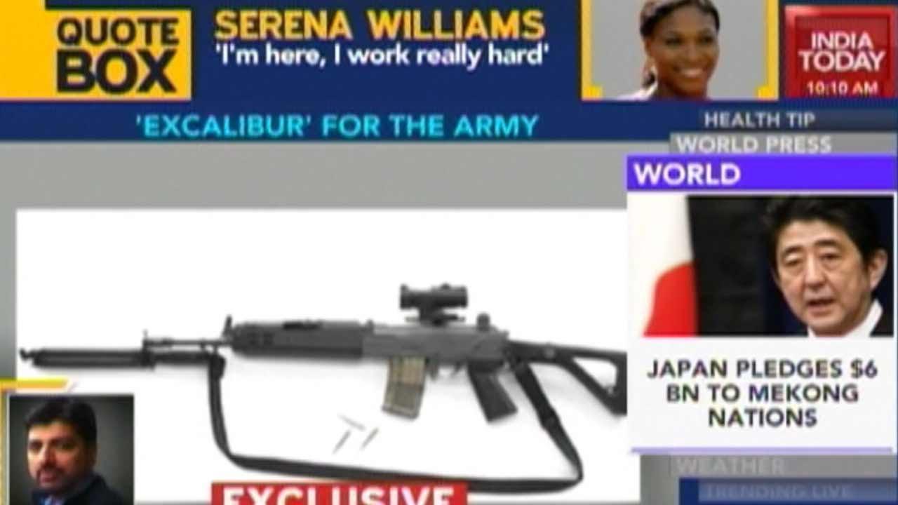 Drdo designed excalibur assault rifle to replace insas rifles drdo designed excalibur assault rifle to replace insas rifles youtube thecheapjerseys Images
