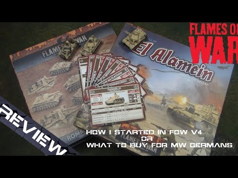 How I built my Flames of War Version 4 100 point Afrika Korp Army