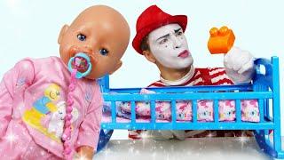 Куклы в видео онлайн - БЕБИ БОН не может заснуть! - Детские мультики и весёлые игры с Baby Born