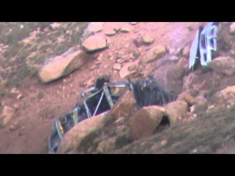 Pikes Peak International Hill Climb 2012 - Jeremy Foley Crash