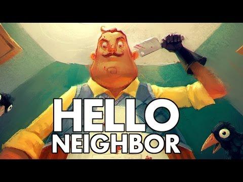 Hello Neighbor - Creeping on the Neighbor! - Let's Play Hello Neighbor Gameplay