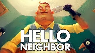 Hello Neighbor - Creeping on the Neighbor! - Let's Play Hello Neighbor Gameplay