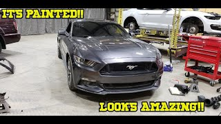 Rebuilding A Wrecked 2015 Mustang GT Part 3