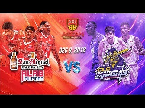 San Miguel Alab Pilipinas vs CLS Knights | 9 DEC 2018 | ASEAN Basketball League S9