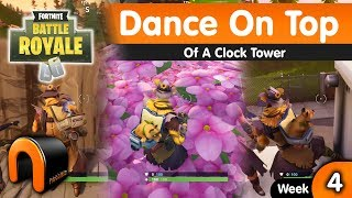 Dance On Top Of A Clock Tower FORTNITE - Week 4 Challenge