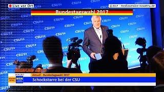 Wahlen 2017:  Rede von Ministerpräsident Seehofer, CSU