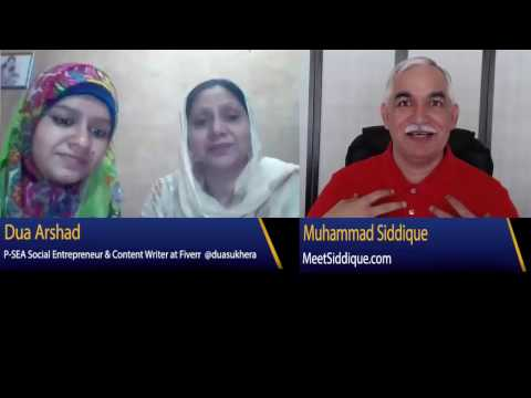 Mrs. Arshad, mother of an Online Social Entrepreneur Dua Arshad Appeal to Western World