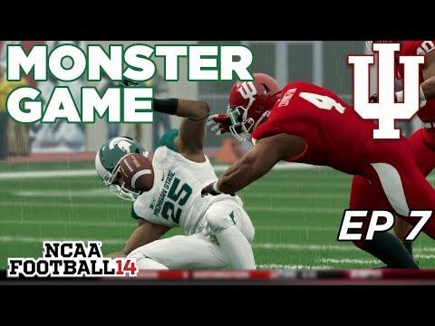 NCAA Football 14 Dynasty   Indiana Hoosiers - MONSTER DEBUT!! - Ep 7