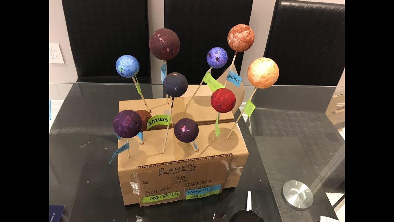 Diy Solar System Planets Clublifeglobalcom
