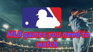 You Shouldn't Miss These 5 Games In The 2020 Mlb Season | Sportspulse
