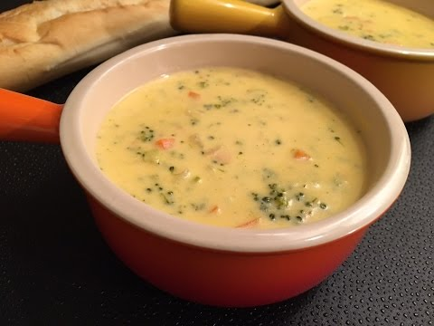 Broccoli Cheddar Soup Recipe - Cheesy And Delicious! - Episode #93