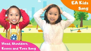 Head Shoulders Knees and Toes Song - EA Kids Song