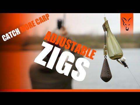 ***CARP FISHING TV*** Fishing With Adjustable Zigs