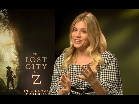 "Sienna Miller googled Percy Fawcett conspiracies - ""The Lost City of Z"" interview EXCLUSIVE"