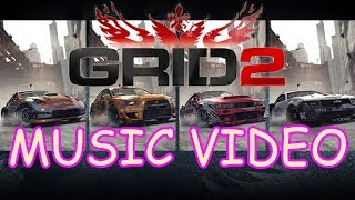 GRID 2 - DETERMINE // MUSIC VIDEO MONTAGE (EPIC COMBO)
