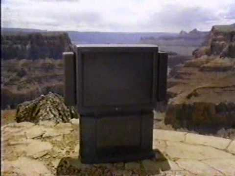 1992 Sony Trinitron XBR Square Commercial