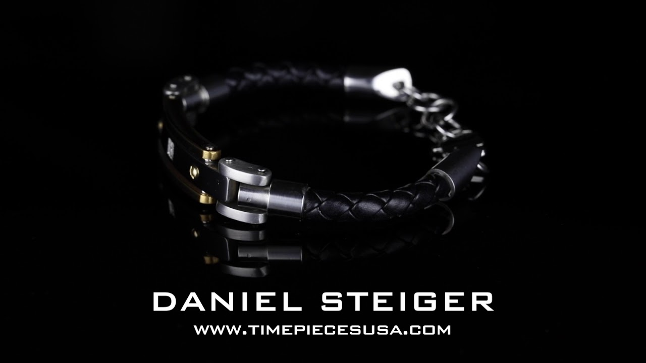 Daniel Steiger Diamonds Steel Bracelet