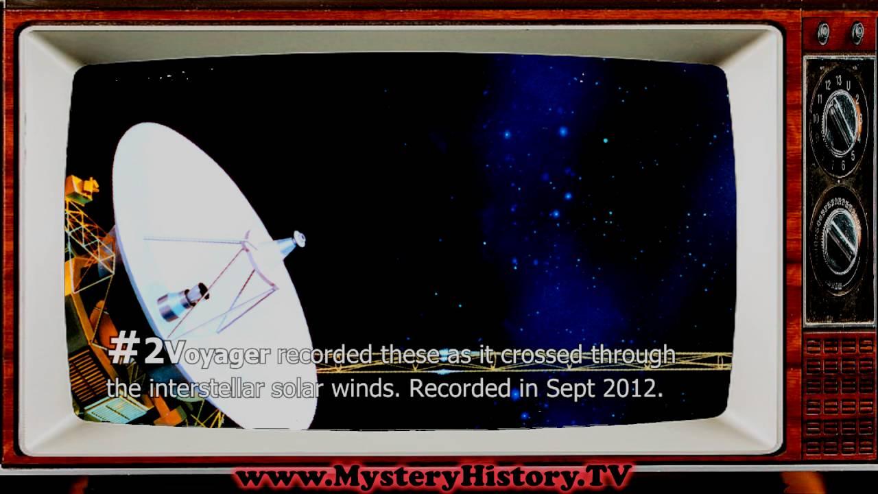 Top 4 Declassified NASA Space Sounds