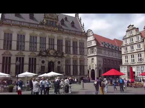 Spaziergang in Bremen durch schöne Hansestadt