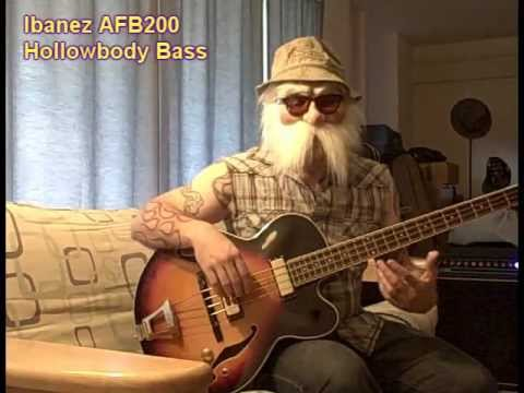 Hog Branch Demonstrates An Ibanez AFB200 Bass He's Selling