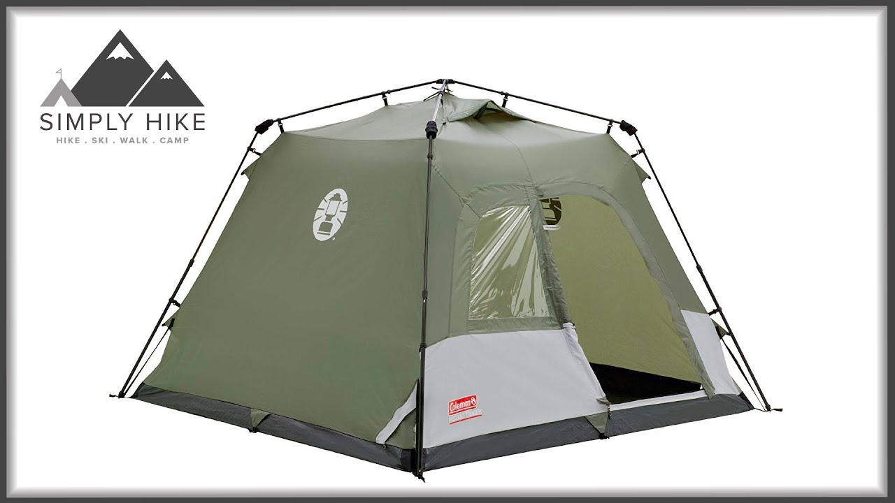 2e1720cdba1 Coleman Instant Tourer 4 - www.simplyhike.co.uk - YouTube