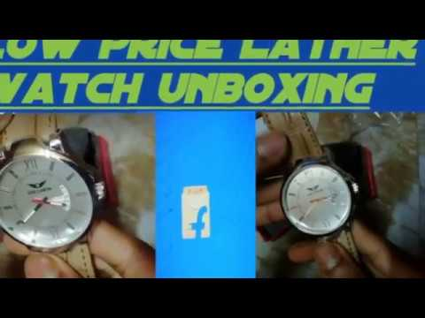 f1458617c26 Lois Caron LCS-4116 WHITE DAY   DATE Watch unboxing - YouTube
