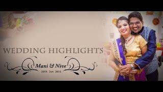 Studio Art Presents Wedding Highlights Of Mani & Nive