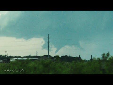 Cone Tornado Near Odessa, TX - May 3, 2019
