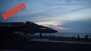 Flight Deck Operations USS Dwight D. Eisenhower