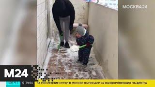 Как развлекаются дети в условиях режима самоизоляции - Москва 24