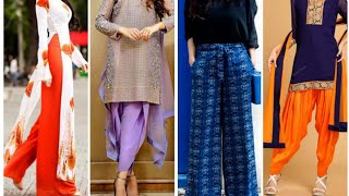 Amazing 25+ College girls Fashion Dhoti & Palazzo Designs | New Fashion Dhoti pant/Palazzo pant