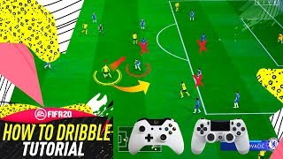 FIFA 20 DRIBBLING TUTORIAL - MOST EFFECTIVE SECRET DRIBBLING TRICKS - HOW TO DRIBBLE