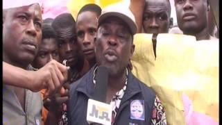 Trader Protest in  Anambra state