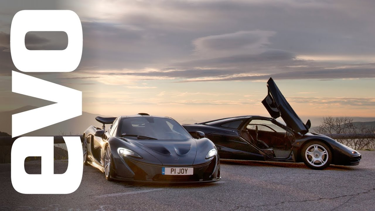 McLaren P1 vs McLaren F1 | evo REVIEW - YouTube