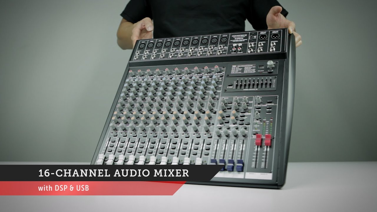 Channel Audio Mixer Circuit