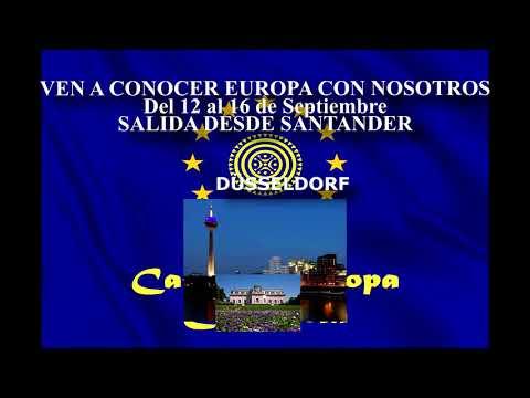 Viaje de la Casa de Europa en Cantabria