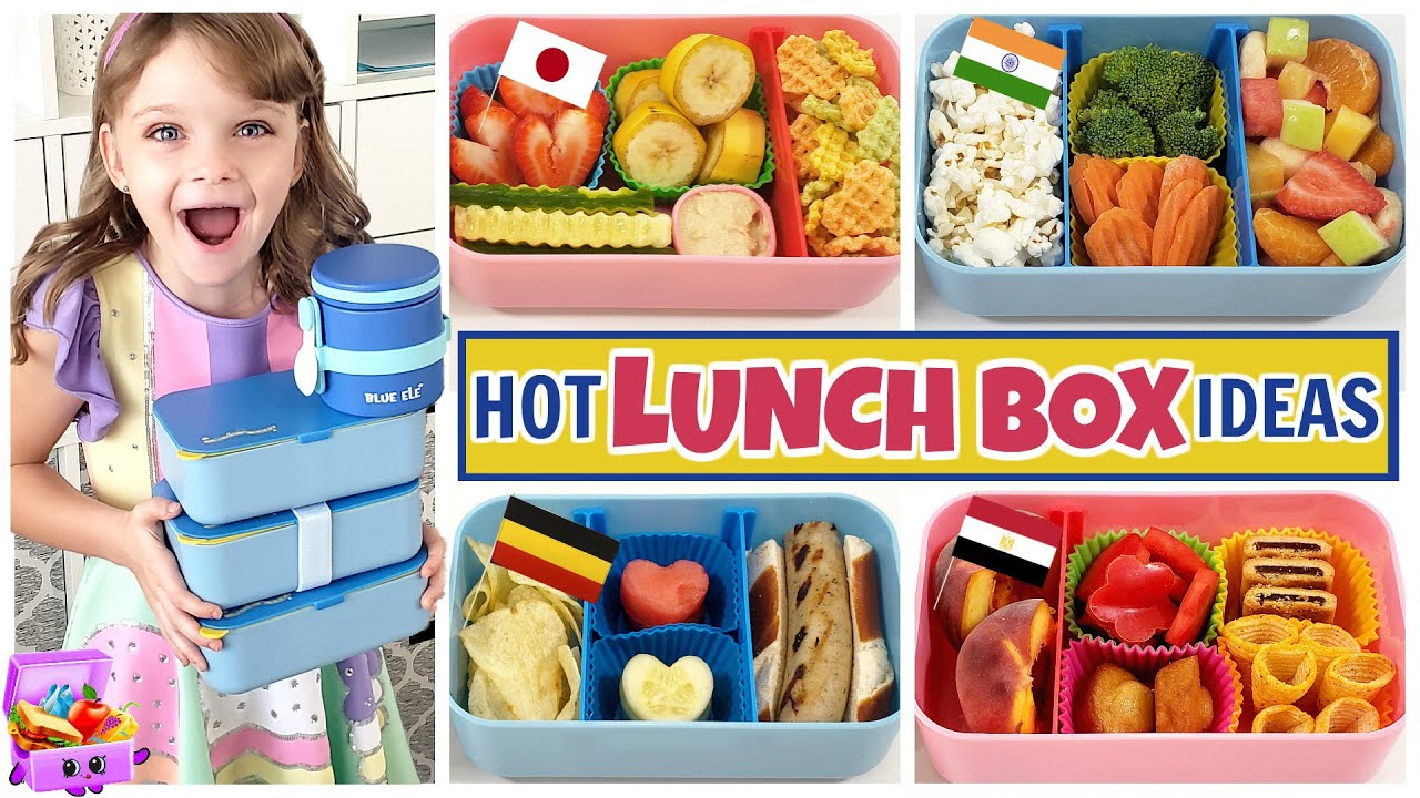 HOT LUNCHBOX IDEAS from Around The World 🌐 SUBSCRIBER LUNCHES