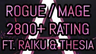 Avizura - Highest Rogue/Mage world 2800+ ft. Raiku & Thesia