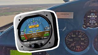 uAvionix AV-30 -C EFIS (Certified) Review - AOA Indicator - AI - DG