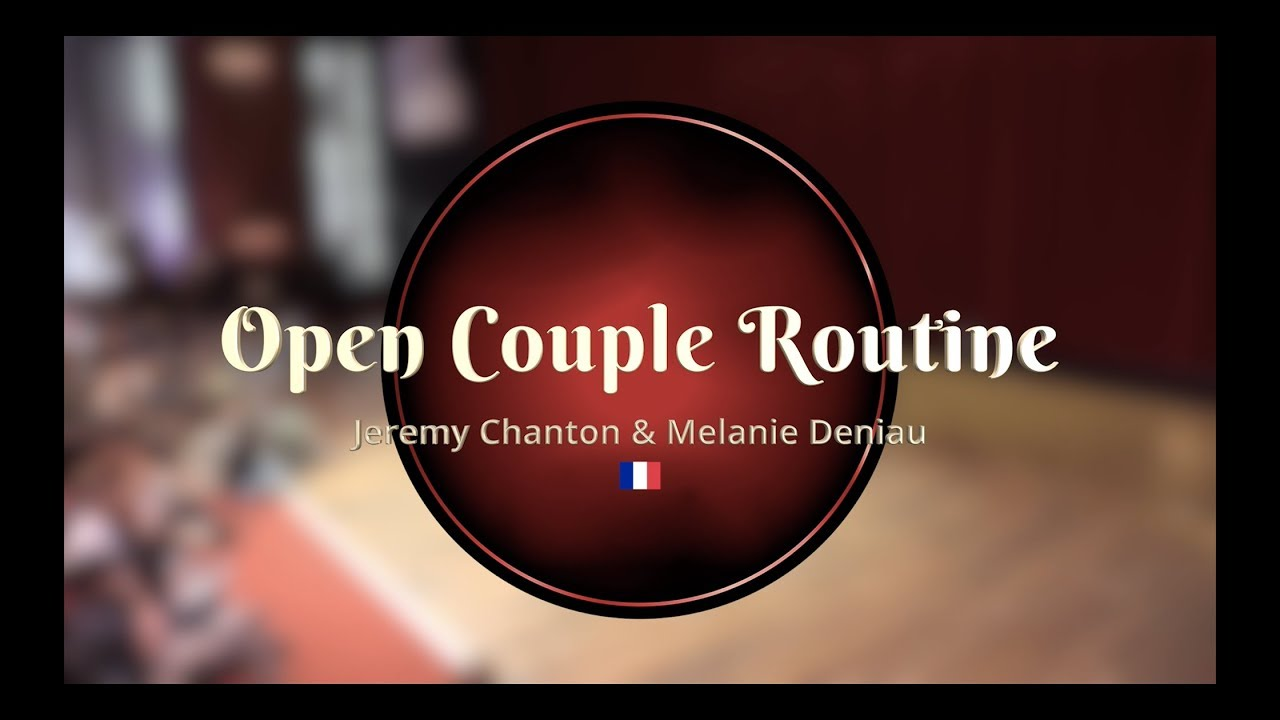 e5141681e Savoy Cup 2019 - Open Couple Routine - Jeremy Chanton   Melanie Deniau
