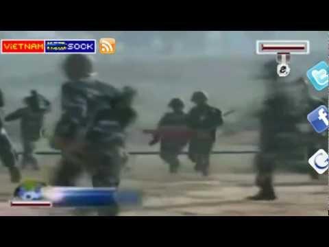 Sock Bắn đạn thật  Quân chủng Phòng không-Không quân Việt Nam tập trận