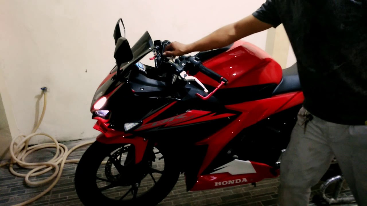 All New Cbr 150 R Facelift Black Red Victory Upgred Candy Crush 150r Brebes