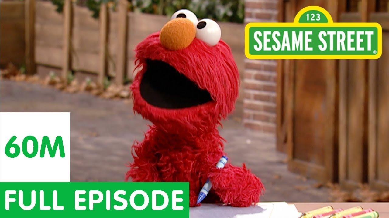 Elmo's Pretend School | Sesame Street Full Episode