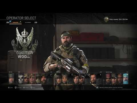 Call Of Duty Warzone Frank Woods Operator Gameplay Black Ops Cold War Pre Order Bonus Youtube