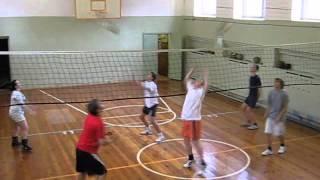 Волейбол обучение СОШ16